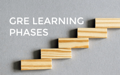The Learning Phases of Preparing for the GRE